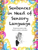 Sentences in Need of Sensory Language