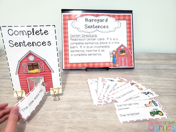 Identifying and Writing Complete Sentences