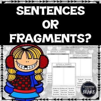 Sentences or Fragments Sorts (FREE)