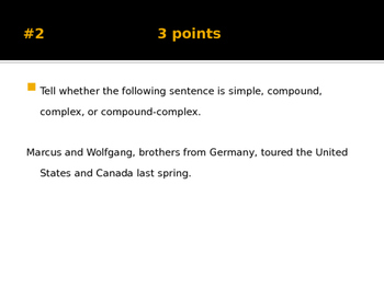 Sentences practice game