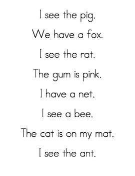 Sentences to Cut Apart