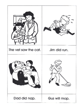 Sentences with Matching Pictures, Wilson/OG Bk 1-2