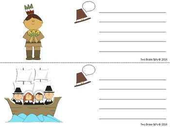 Sentences with Pilgrim Hat Callouts