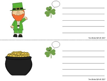 Sentences with Shamrock Callouts
