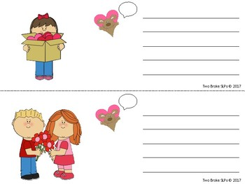 Sentences with Valentine's Callouts