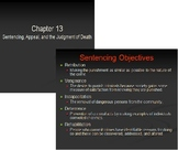 Sentencing and Death Penalty PPT