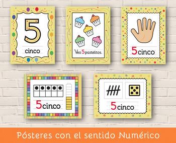 Sentido Numérico 0 - 5 - Tema La Fiesta