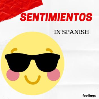 Sentimientos y Emociones (Reading Comprehension in Spanish)