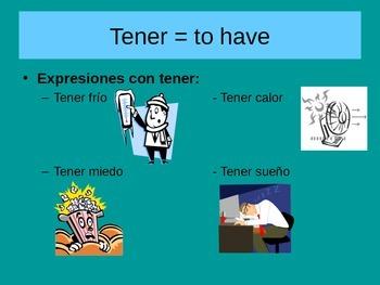 Sentirse, Tener Idioms, Negative Commands Expresate CH 7