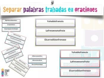 Separar Palabras Trabadas (Grupos Consonánticos) en Oraciones. Centros K-2nd