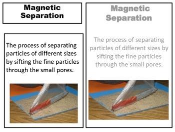 Separating Mixtures  3 part cards
