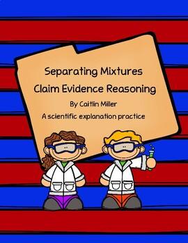 Separating Mixtures Claim Evidence Reasoning