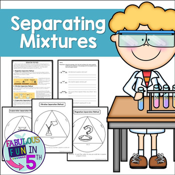 Separating Mixtures: Nonfiction Passage and Foldables