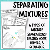 Separating Mixtures Reading Notes and Constructed Scenarios
