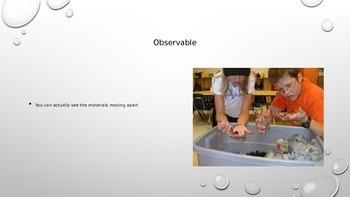 Separating Mixtures Vocabulary Words