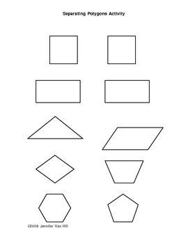 Separating Polygons Activitiy