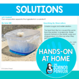 Separating Solutions {Hands-on at Home} | Distance Learning
