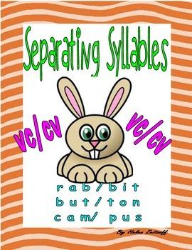 Separating Syllables!