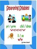 Separating Syllables! VCCCV   VCCCCV