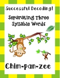 Separating Three Syllable Words!
