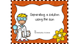 Separating solution