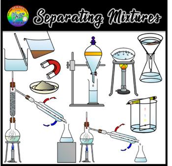 Separating Mixtures Clipart