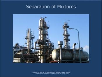 Separation of Mixtures [Presentation]