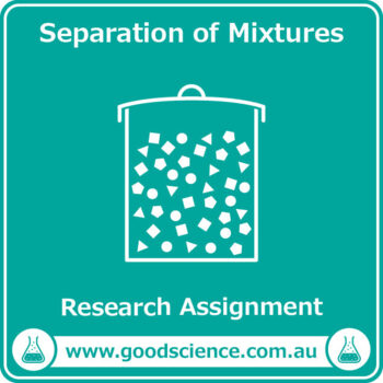Separation of Mixtures [Research Assignment]