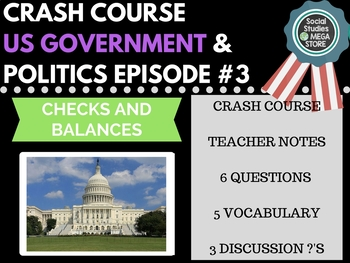 Separation of Powers & Checks & Balances: Crash Course Gov