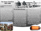 Sepoy Rebellion Activity-Common Core-Close Read-Homework