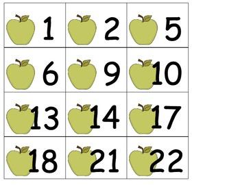 Sept Calendar Cards