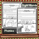 First Grade Morning Work, Sept. Language, Sight Word Practice NO PREP JUST PRINT