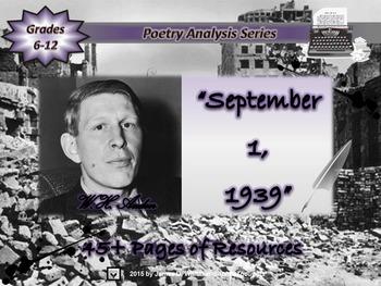 September 1, 1939 by W.H. Auden  Poem Analysis