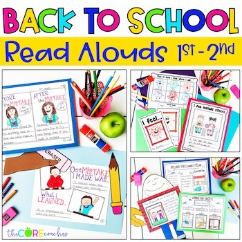 September 1-2 Back to School Bundle: Interactive Read-Aloud Lesson Plans