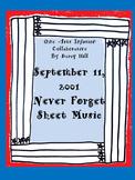 September 11, 2001 Never Forget Sheet Music