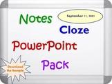 September 11, 2001 Pack (PPT, DOC, PDF)