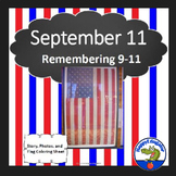September 11th Activity Pack with Reading Comprehension Passage and Questions