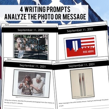 September 11th (9/11) Close Reading Passage & Comprehension Questions