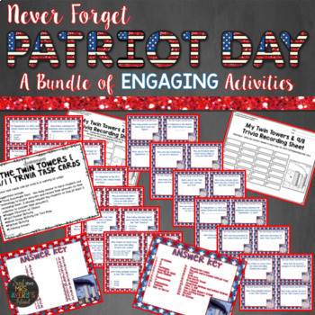 September 11th Patriot Day Activities Bundle