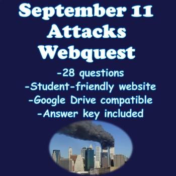 September 11 Attacks Webquest