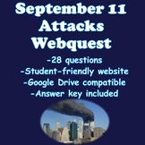 September 11 Attacks Webquest