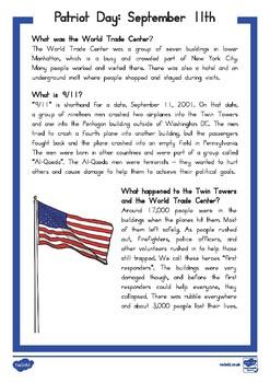September 11 Fact File