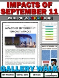 September 11 Impacts - Gallery Walk and Writing Assignment