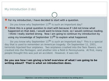September 11 Information Narrative