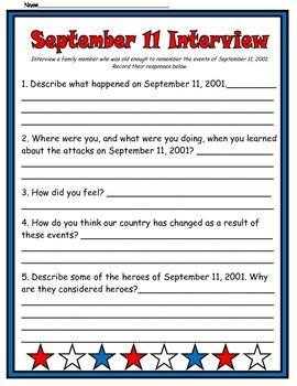 September 11 Interview