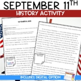 September 11 Reading Activity