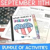 September 11 | Patriot Day Bundle of Activities