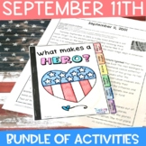 September 11 | Patriot Day Bundle of Activities