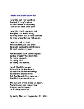 September 11 Poem