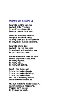 September 11 Poem COMMERCIAL USE